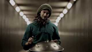Solo Hang Drum in a Tunnel | Daniel Waples - Hang in Balance | London - England [HD]