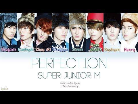 Super Junior-M (슈퍼주니어-M) – Perfection (Korean Ver.) (太完美/태완미) (Color Coded Lyrics) [Han/Rom/Eng]