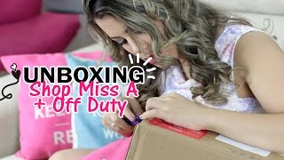 Unboxing: Tudo por $ 1,00 - maquiagem e jóias ShopMissA + Off Duty - Kathy Castricini
