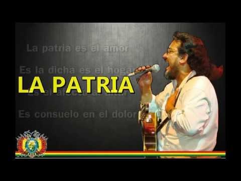 Juan Enrique Jurado - La patria (LETRA)