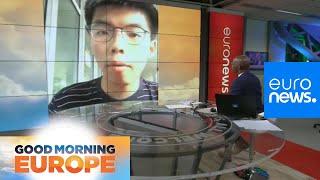 Freed Hong Kong pro-democracy leader Joshua Wong demands resignation of Carrie Lam