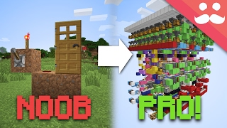 How to go From NOOB to PRO at Minecraft Redstone!