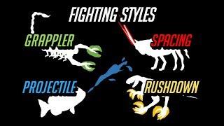 The 4 Animal Combat Styles
