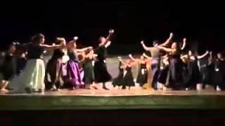 Prueba de selección de los bailarines del Ballet Folclórico Punta Alta