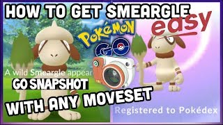 HOW TO GET SMEARGLE THE EASY WAY! POKEMON GO