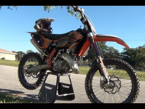 2008 Ktm 125 Sx Update And Neighborhood Ride Around Youtube