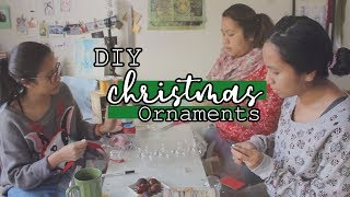 DIY Christmas Ornaments | 30 MINUTE Craft | Over Coffee
