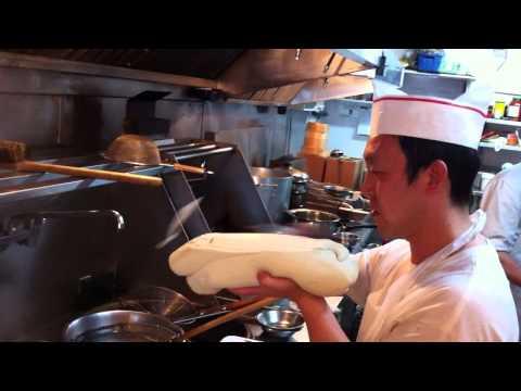 BCRestaurants.ca | BCRestaurants.ca presents Yu Xian Yuan | Noodle Preparation