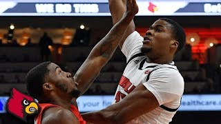 Louisville Forward Steven Enoch Dominates Paint vs. Youngstown State