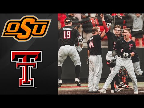 #9 Oklahoma State vs #8 Texas Tech Super Regional Game 3 | College Baseball Highlights