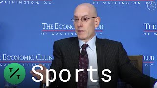 NBA Commissioner Adam Silver on Sports Betting