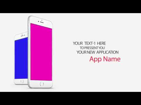 App Promo Video For Iphone Or Android