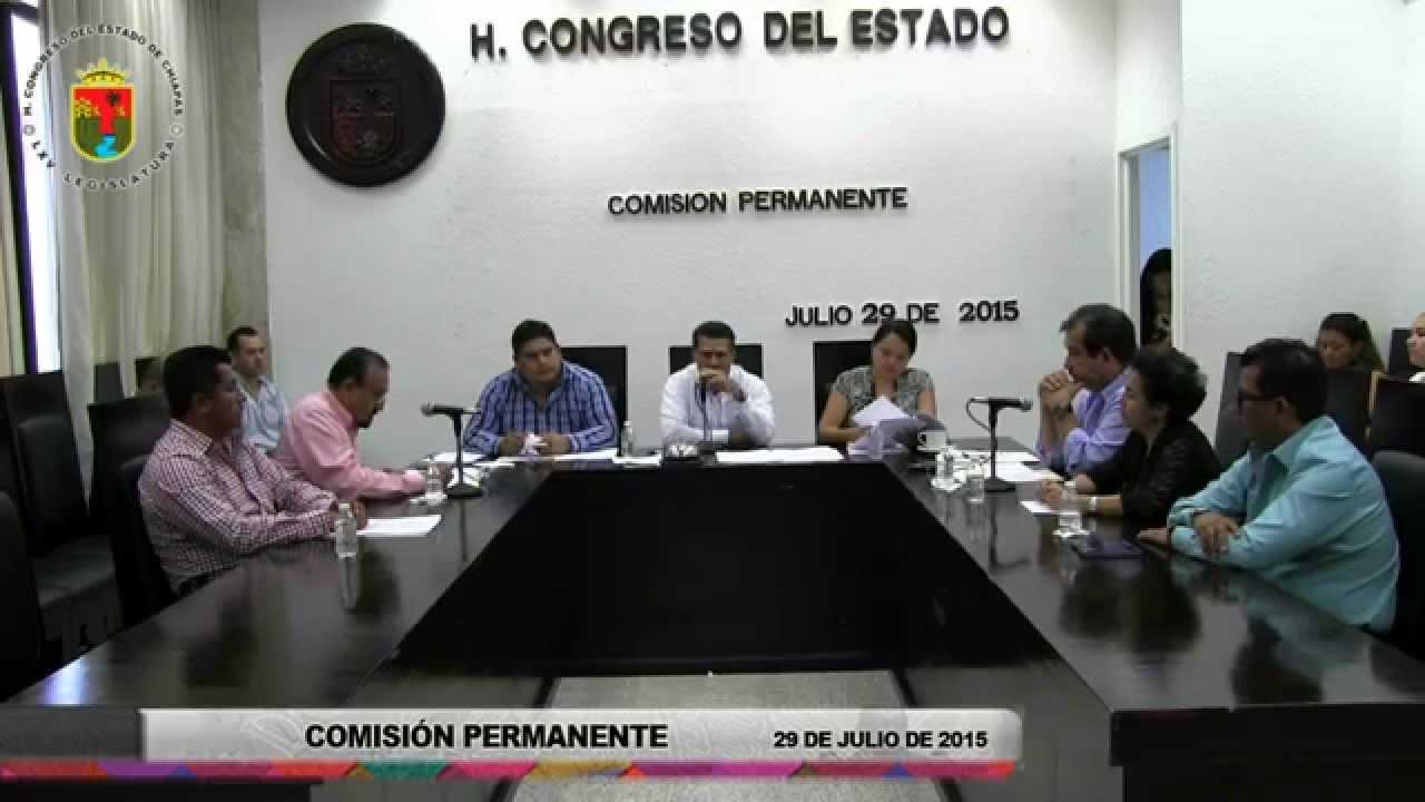 Comisión Permanente 29 de Julio de 2015