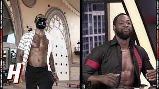 Dwyane Wade MOCKS LeBron James Pregame Outfit   August 10, 2020