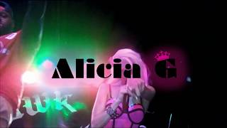 ALICIA G Spinning Live in Action!