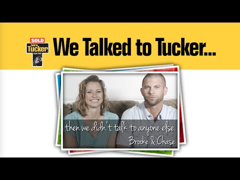 We Talked to Tucker...  (Brooke & Chase)