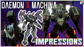 Daemon X Machina Gameplay Impressions & Feedback | Speed, Pace, Framerate, Graphics & More!