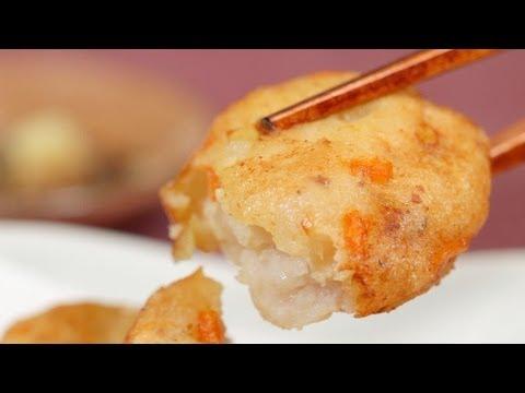 Satsuma-age (Deep-Fried Fishcake Recipe) | Cooking with Dog