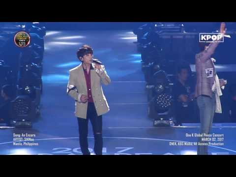 170302 SHINee - An Encore 재연 at OneK Global Peace Concert