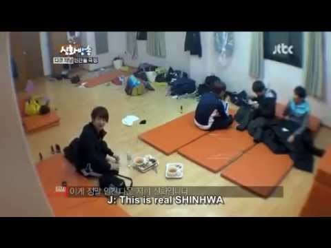 [CUT] Shinhwa Broadcast EP 6 Junjin's melodic fart