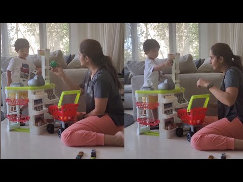 Sania Mirza super cute video with her son Izhaan Mirza Malik