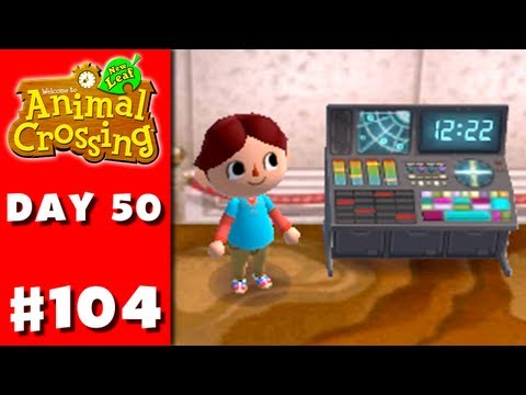 Animal Crossing: New Leaf - Part 104 - Space Console (Nintendo 3DS Gameplay Walkthrough Day 50) - Smashpipe Games