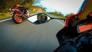 Pure Adrenaline Rush | KTM RC390 VS Yamaha R15V3