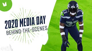 Behind-the-Scenes of Seahawks Media Day 2020