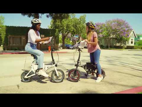 video Swagtron EB1 Electric Bike