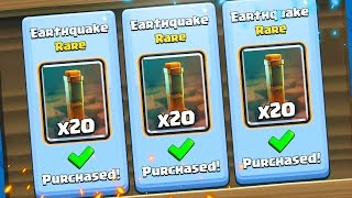 (Re-Upload) UPDATE SHOOK THE SHOP?! New Clash Royale Earthquake Spell Update!
