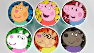 Peppa Pig & Friends Fancy Dress Party Toy Set with George & M&M's