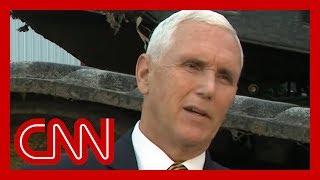 Mike Pence's Ukraine denial stuns Anderson Cooper
