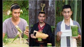 Chàng Trai Có Thể Làm Mọi Thứ Từ Tre Đây Rồi P8 | Tik Tok Trung Quốc