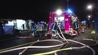 NRWspot.de | Bochum – Großbrand in Hiltrop – Drei Lagerhallen komplett zerstört