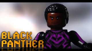 Black Panther Trailer in LEGO