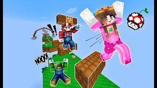 [MinecraftMap]SUPER STEVE  Công chúa Mạnh hơn cả Mario và Luigi??