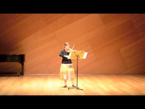 Glissandos on a Flower Stem: for Violin Solo