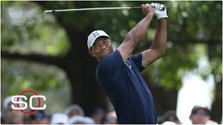 Tiger Woods in the hunt after Round 1 at the Masters   SportsCenter
