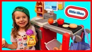 Little Tikes Shop N Learn Smart Checkout Grocery Store Pretend Play
