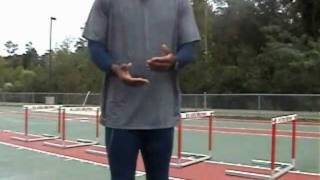 Hurdle Day Warm up - easy prep for a hurdle workout