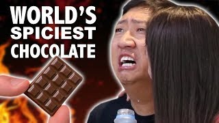 THE WORLD'S SPICIEST CHOCOLATE CHALLENGE