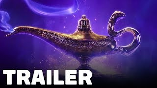 Aladdin Trailer (2019) Will Smith, Naomi Scott, Mena Massoud, Nasim Pedrad