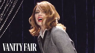 Emma Stone Teaches You How to Pogo Stick | Secret Talent Theatre | Vanity Fair