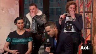 "Ryan Reynolds, TJ Miller, Ed Skrein and Morena Baccarin On ""Deadpool"" 