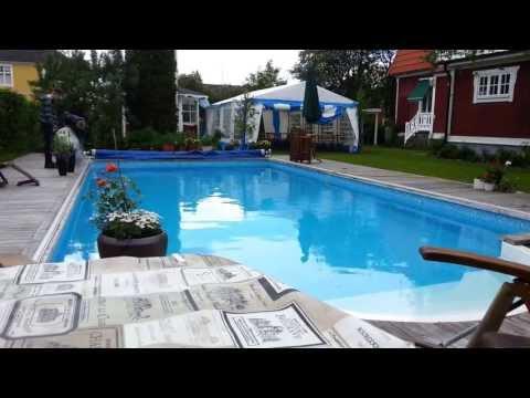 10 litres d'azote liquide dans une piscine