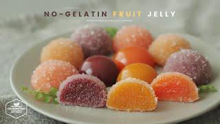 노젤라틴! 과일 젤리 만들기 : No-Gelatin Fruit Jelly Recipe   Cooking tree