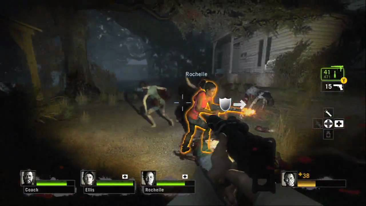 left 4 dead 2 meet the charger