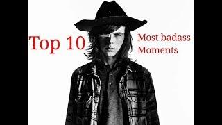 Carl Grimes Top 10 Most badass Moments