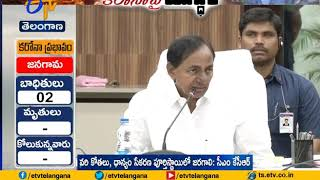 CM KCR to take strict actions to control coronavirus..