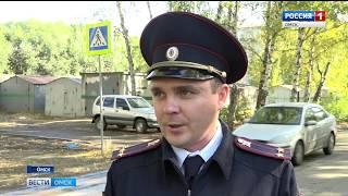 Омская ГИБДД составила список мест, где благоустройство дорог не соответствует ГОСТу